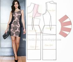 Fashion Templates for Measure: DRESSES