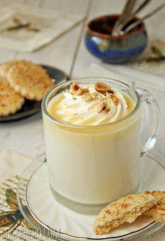 Hazelnut White Hot Chocolate. Must try this like yesterday!