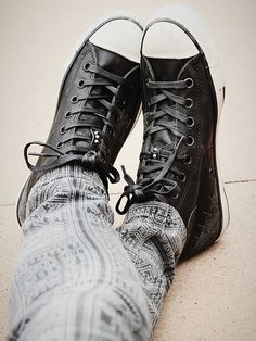 Converse Staple Hi Top Chucks http://www.freepeople.co.uk