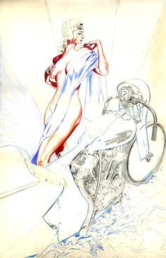 Denis Sire: Pin Up and Cartoon Girls