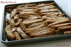 Mandel Bread for the Jewish New Year