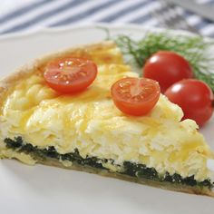 A Tasty recipe for quiche with cheese and spinach. Serve with a fresh salad.. Quiche With Cheese And Spinach Recipe from Grandmothers Kitchen.