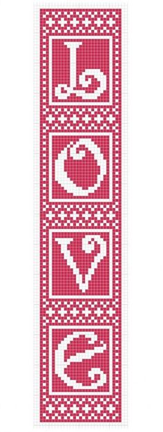cross stitch / bead loom