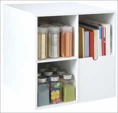 #papercraft #craftroom #crafting supply #organization - this is the Go-Organize Magazine Holder Organizer Cube. Get Organized w/ #organizing #furnishings from Go-Organize.com!