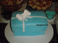 Tiffany Bridal Shower cake