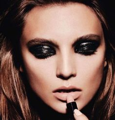 THE #black make up!