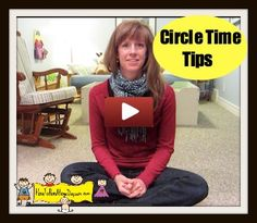 Transition Tip to Begin Circle Time- Tutorial Video. I really like the wind chime idea before you sing the gathering song.