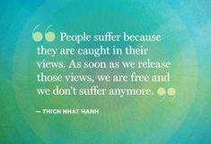 release suffering
