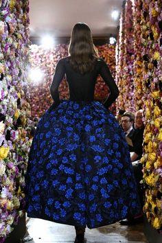 Raf Simons's debut collection for Christian Dior.