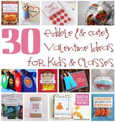 Edible Valentine Ideas for Kids
