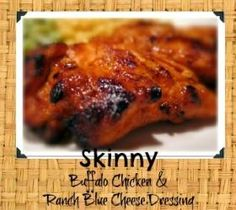 Slam dunk crowd pleaser.  Crazy simple and outrageously good.                   5 PointsPlus including a creamy ranch blue cheese dressing