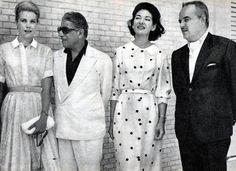 Princess Grace, Ari Onassis, Maria Callas, Prince Rainier