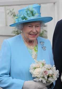 Queen Elizabeth on her visit to Henley on Thames