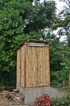 Composting latrine, Belize. Submitted by Renée Johnson, Sustainable Harvest International.