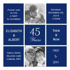 ... Wedding Anniversary on Pinterest Blue Cakes, Wedding Anniversary and