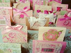 Shabby Chic DIY Invites