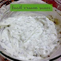 Basil Cream Sauce for Tilapia