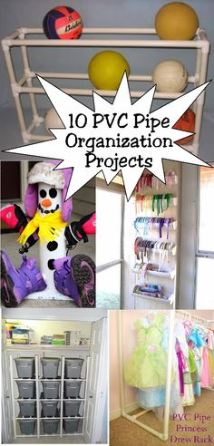 Kims Kandy Kreations: 10 PVC Pipe Organizing Projects