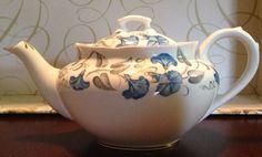 RARE Royal Albert England Bone China Morning Glory Teapot 1950'S   eBay