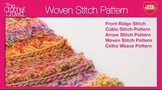 Left: Woven Stitch T