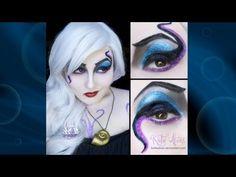 ▶ Ursula Cosplay Makeup Tutorial - YouTube