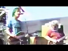 ▶ The Grateful Dead 9-15-85 Chula Vista CA - Alabama Getaway .Promised Land . West L.A. Fadeaway .Smokestack Lightning .Deal .Twilight Zone Theme .Scarlet Begonias .Fire On The Mountain .She Belongs To Me .Truckin' (missing - filled with graphics) .Comes A Time (missing - filled with graphics) ~j