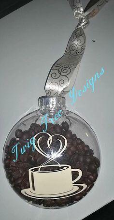 Coffee Lover ornament  - $8.00 each