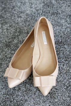 In my ballerines: Pointy Massimo Dutti flats