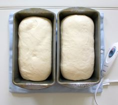 Heating pad used to help bread rise! What an awesome idea.