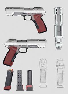 concept pistol