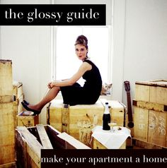 the glossy life make your apartment a home.