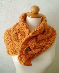 HOODED NECK WARMER HAND WARMERS Crochet Pattern | eBay