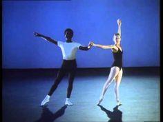 Allegra Kent & Arthur Mitchell in Balanchine's Agon rehearsal.mpg