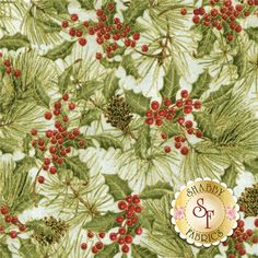 Woodland Christmas 24469-MUL1 By Sandy Lynam Clough For Red Rooster Fabrics