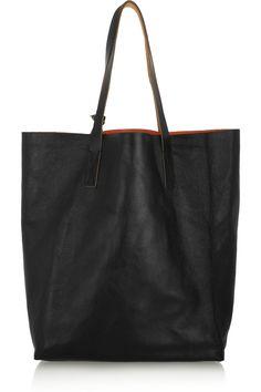 Marni|Leather tote|NET-A-PORTER.COM