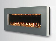 Fireplace research: Spark wall mount fireplace - direct vent slim