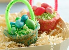 Cute idea for Easter party.