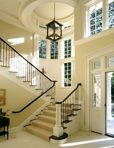 Love the stairs and entry way