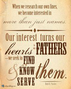 #FamilyHistory #LDS June 2013 Visiting Teaching Message