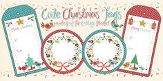 Free Printable Set of Christmas Tags you will LOVE