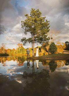 Sam Hurd Photography - brenizer method of bride and groom