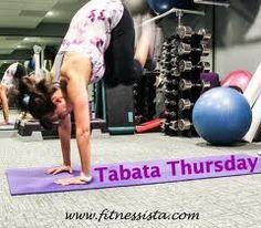 Always good to cross train while doing pole. I love Tabata!!