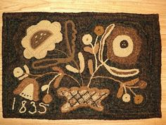 From Boggy Creek Primitives ~ a Maggie Bonanomi design from her book Nature's Offerings.