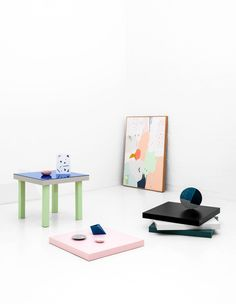 New homewares and artwork by Melbourne based label Hello Polly Home. Photo – Brooke Holm. Styling – Marsha Golemac.