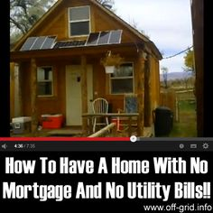 Please Share This Page: How To Have A Home With No Mortgage And No Utility Bills!!Photo – http://www.youtube.com/watch?v=fJsDOD0dTQI Ok, who doesn't feel suffocated by the amount of bills that need to be paid each month? Wouldn't it be incredible to live in a house with no house payments and no utility bills? This video by [...]