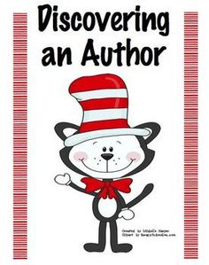 Everyone's favorite March 2nd author isn't just for the K-1 students!  Enjoy this freebie packet I created for my 3rd graders!  It has a brief  bio...