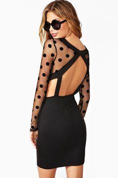 Hit The Spot Dress