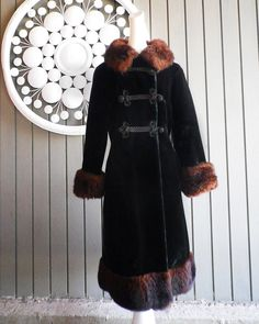 Vintage Russian Style Coat