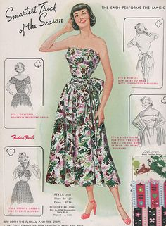 Fashion Frocks 1949