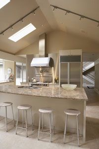 ... Countertops, Moveable Kitchen Island and Painting Laminate Countertops